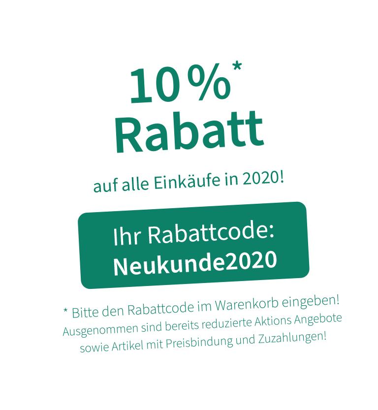 1-2-gesund.de - 10% Rabatt für Neukunden